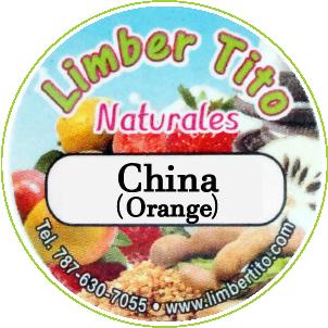 Limber Tito China Naranja